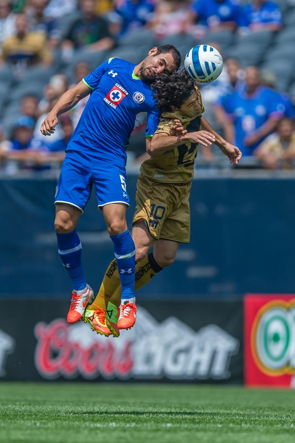 Pumas vs Cruz Azul Soccer @ Soldier Field 07.06.14