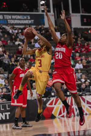 Ohio State vs Maryland Big Ten Women's Basketball Championship @ Sears Centre 03.08.15 by Daniel Bartel
