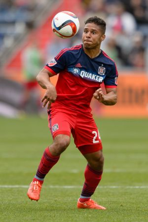 Real Salt Lake @ Chicago Fire MLS Soccer @ Toyota Park 05.09.15 (Photo by Daniel Bartel)
